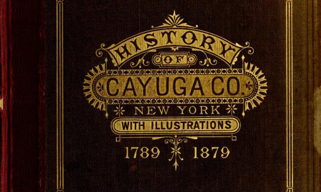 History of Cayuga County New York
