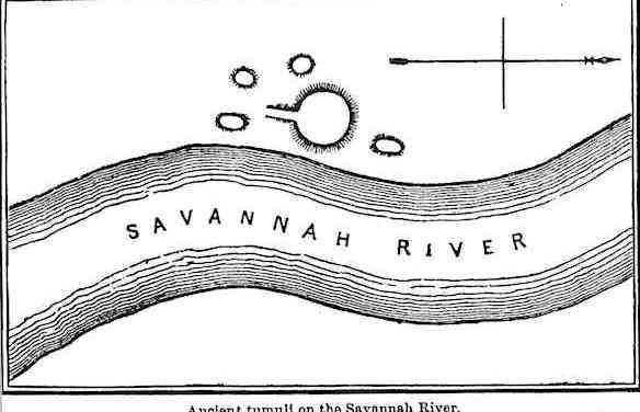 Ancient Tumuli on the Savannah River