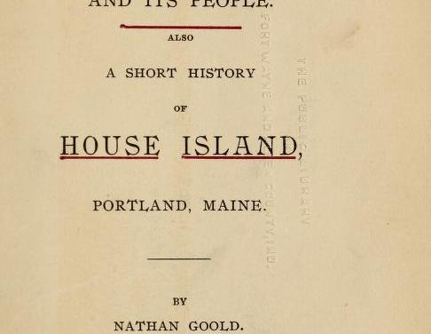 A History of Peaks Island Maine and its People