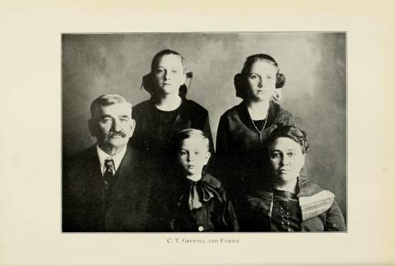 C. T. Crewell and Family