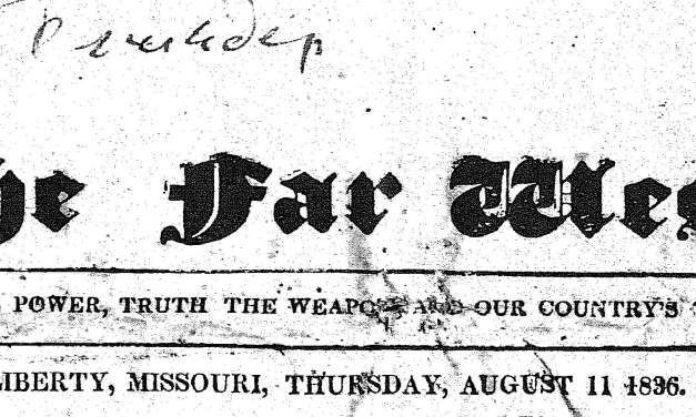 Free Missouri Historical Newspapers Online