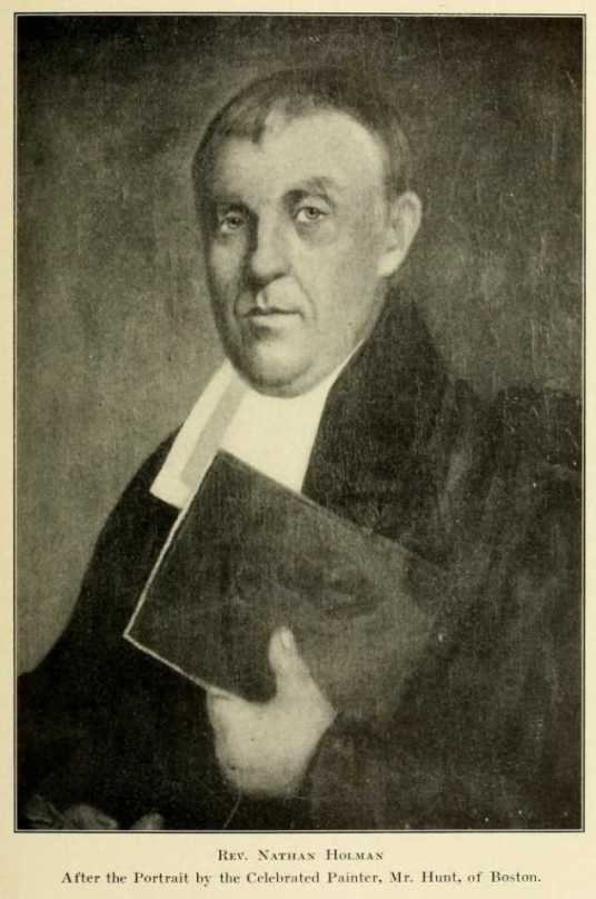 Rev Nathan Holman