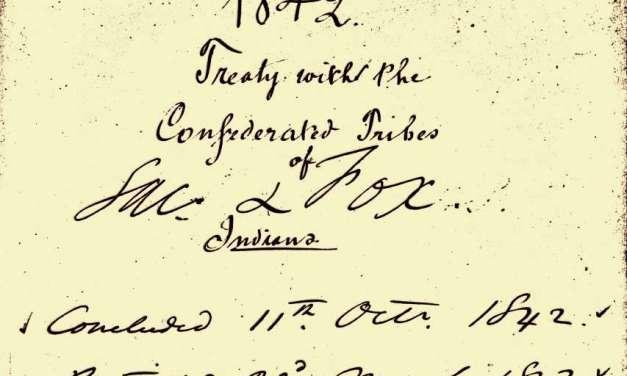 Treaty of October 11, 1842