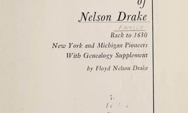 The family of Nelson Drake