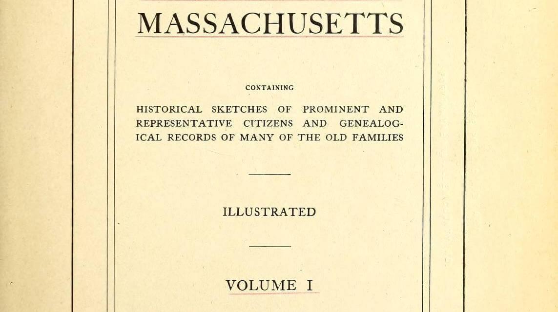 Beal Genealogy of Abington Massachusetts