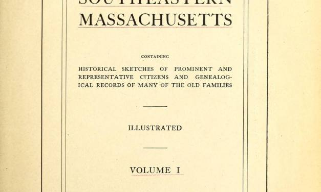 Washburn Genealogy of Bridgewater Massachusetts