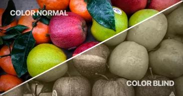 לContrast-color-normal-and-color-blind