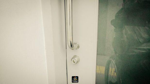 ภาพประตู ซาบะกำลังถ่ายที่เปิด