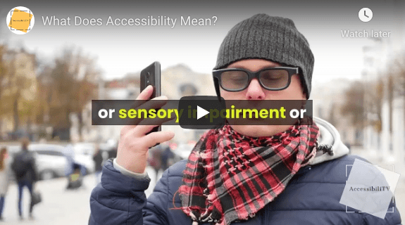 What Does Accessibility Mean?