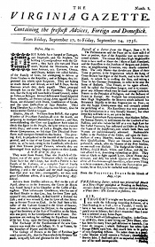 The Virginia Gazette