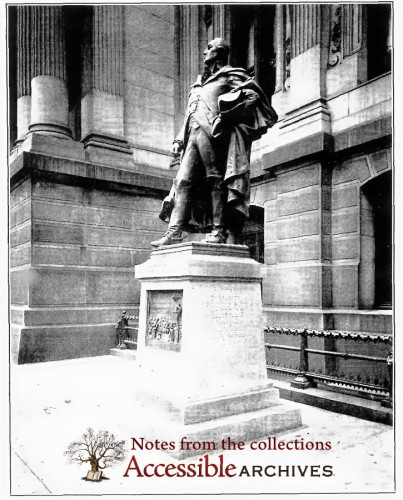 Statue of General Muhlenberg in Philadelphia - Erected In 1910