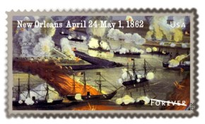 New Orleans Forever Stamp 1862