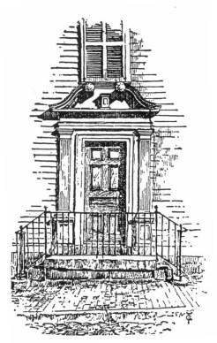 King House on Pelham Street in Reminiscences of Newport