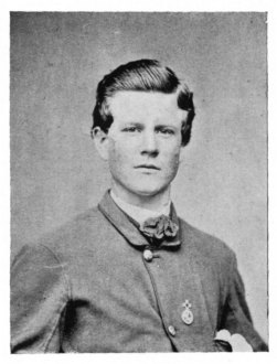 GUIDON-BEARER JOHN F. LEACH