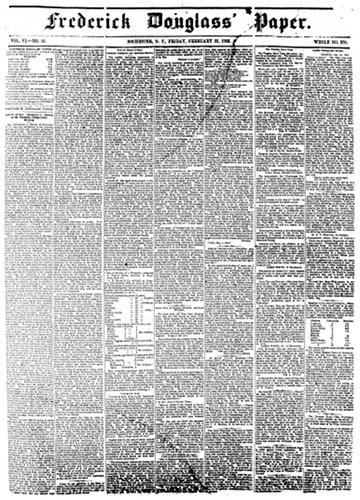 Frederick Douglass Paper - February 25, 1853