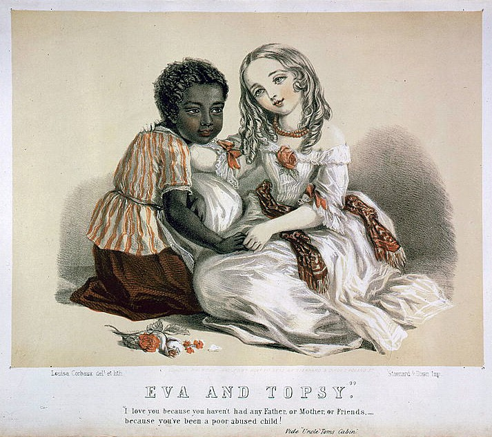 What resulted from the 1851 publication of uncle tom cabin