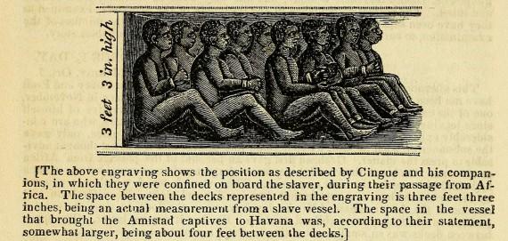 Slave Holding Area in La Amistad