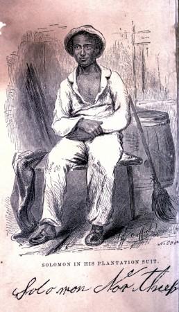 Solomon in his Plantation Suit