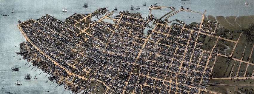 Charleston in 1872