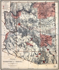 Territory of Arizona in 1887