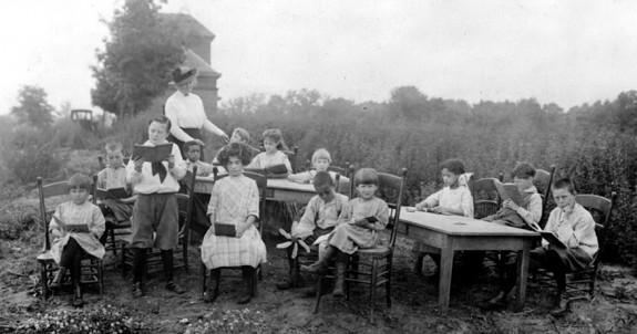 school-outdoors