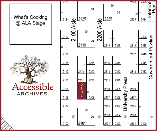 ALA Annual 2015 map