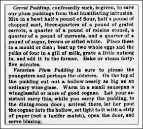 Christmas Recipe - Godey's Lady's Book, December, 1870