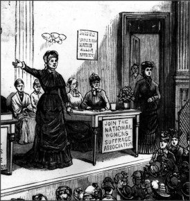 Join the National American Woman Suffrage Association