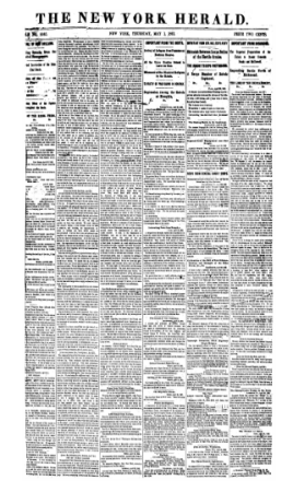The New York Herald - May 1, 1862