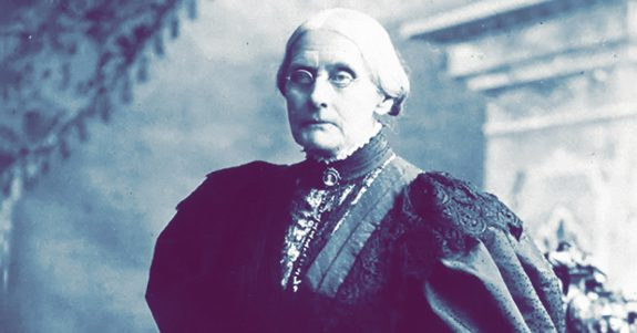 circa 1898: American abolitionist and suffragette Susan B Anthony (1820 - 1906).   (Photo by MPI/Getty Images)