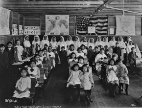 Native Alaskan Junior Red Cross in Juneau
