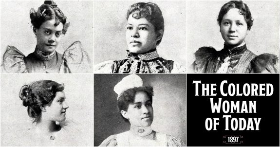 The Colored Woman of Today - 1897