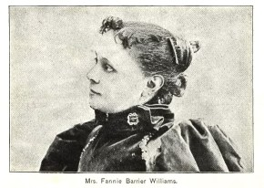 Mrs. Fannie Barrier Williams.