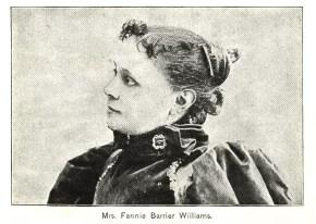Mrs. Fannie Barrier Williams.