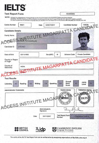Results - Access Institute Magarpatta