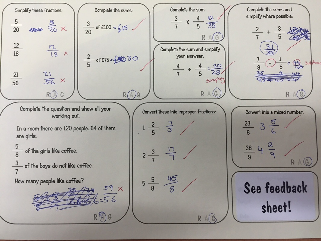 Fractions Of Amounts Worksheet Year 7