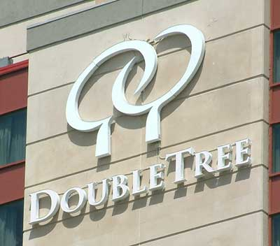 Doubletree Hotel Sign