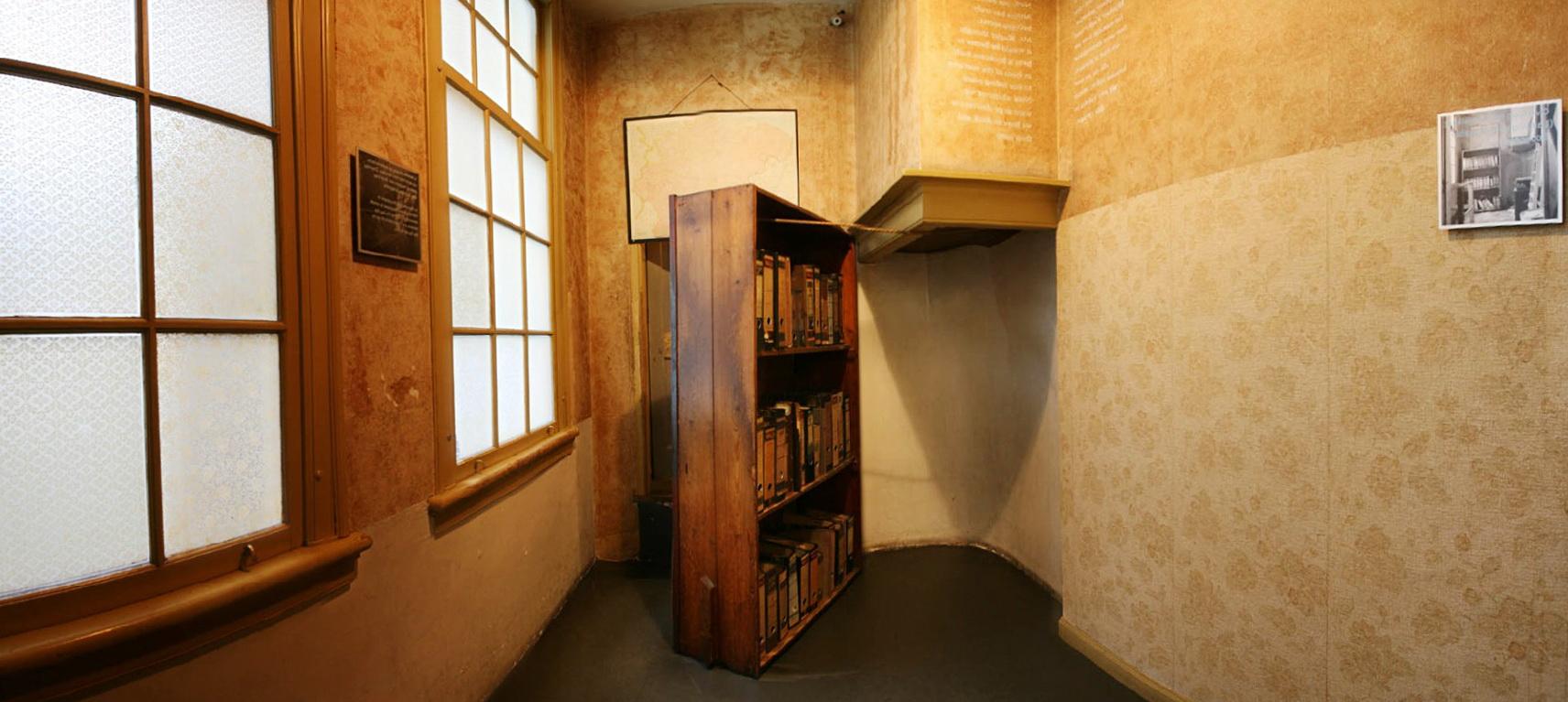 Anne Frank Secret Bookcase Door Home Design Ideas