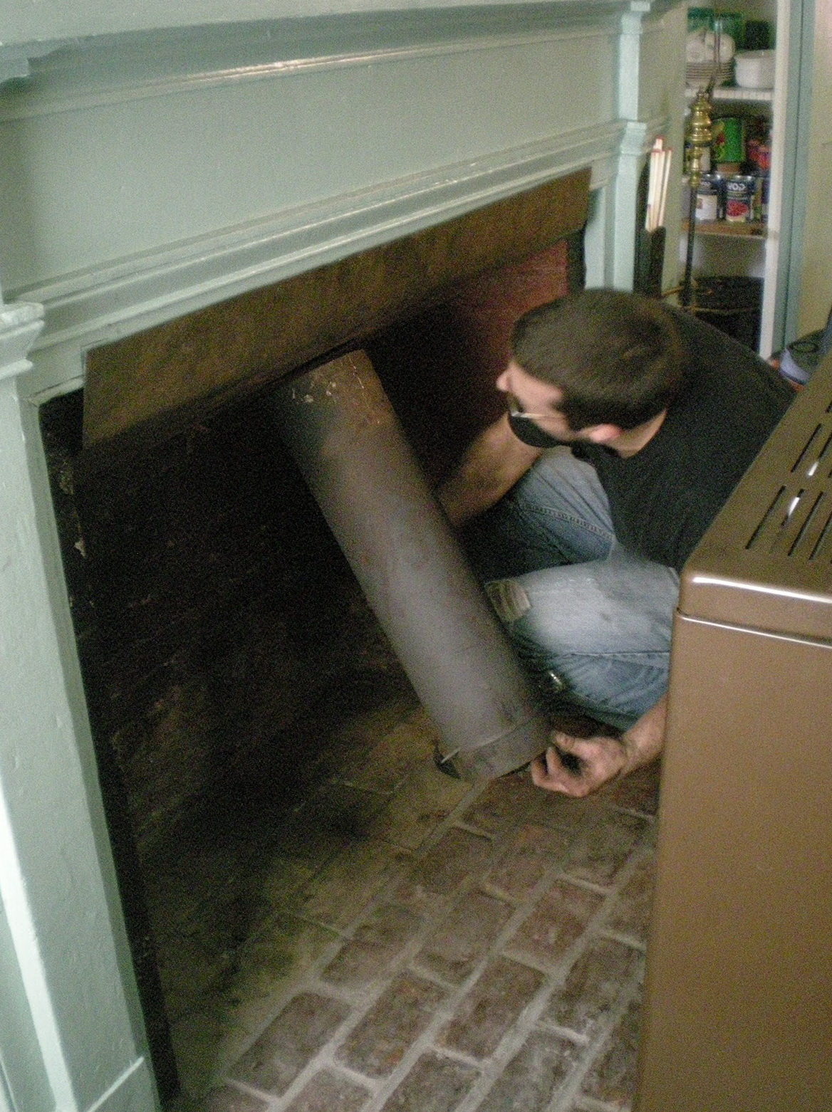 Fireplace Damper Handle Replacement