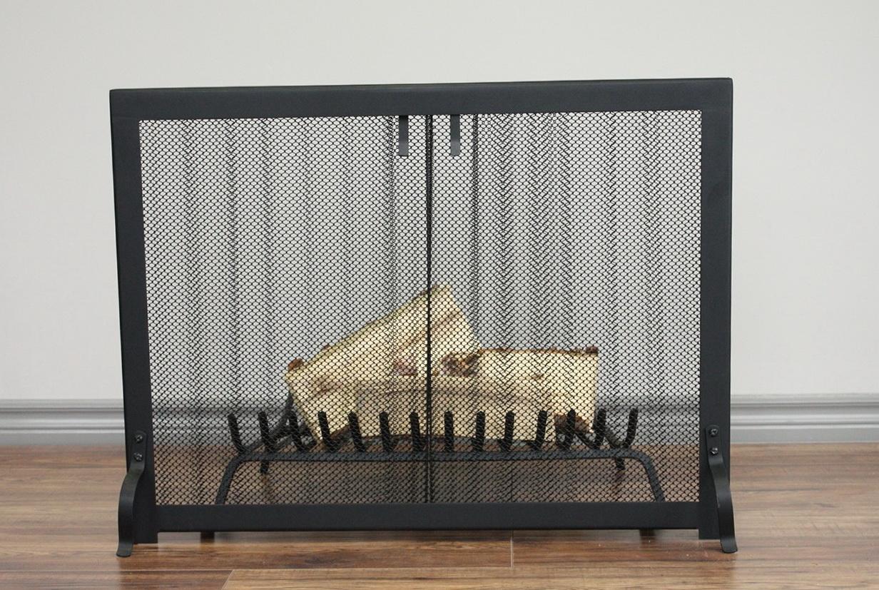 Fireplace Mesh Curtain Home Depot