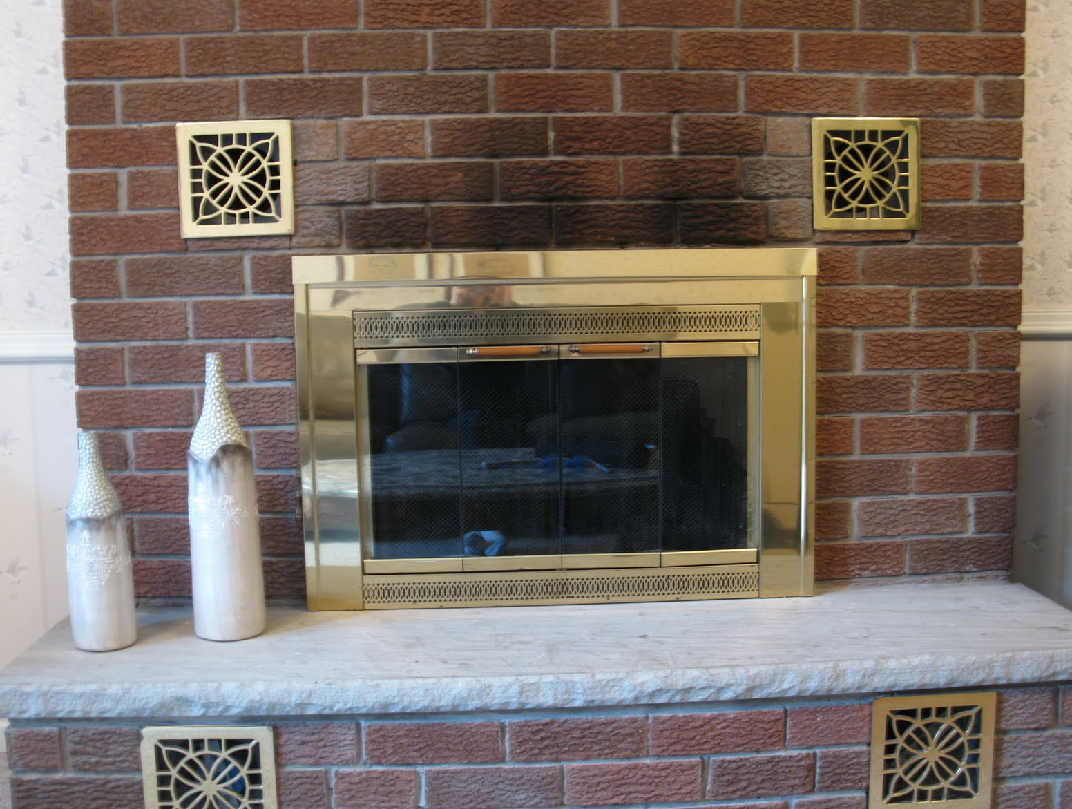 Cleaning A Brick Fireplace