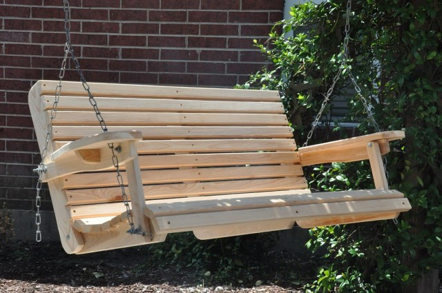 Cypress Porch Swing Plans