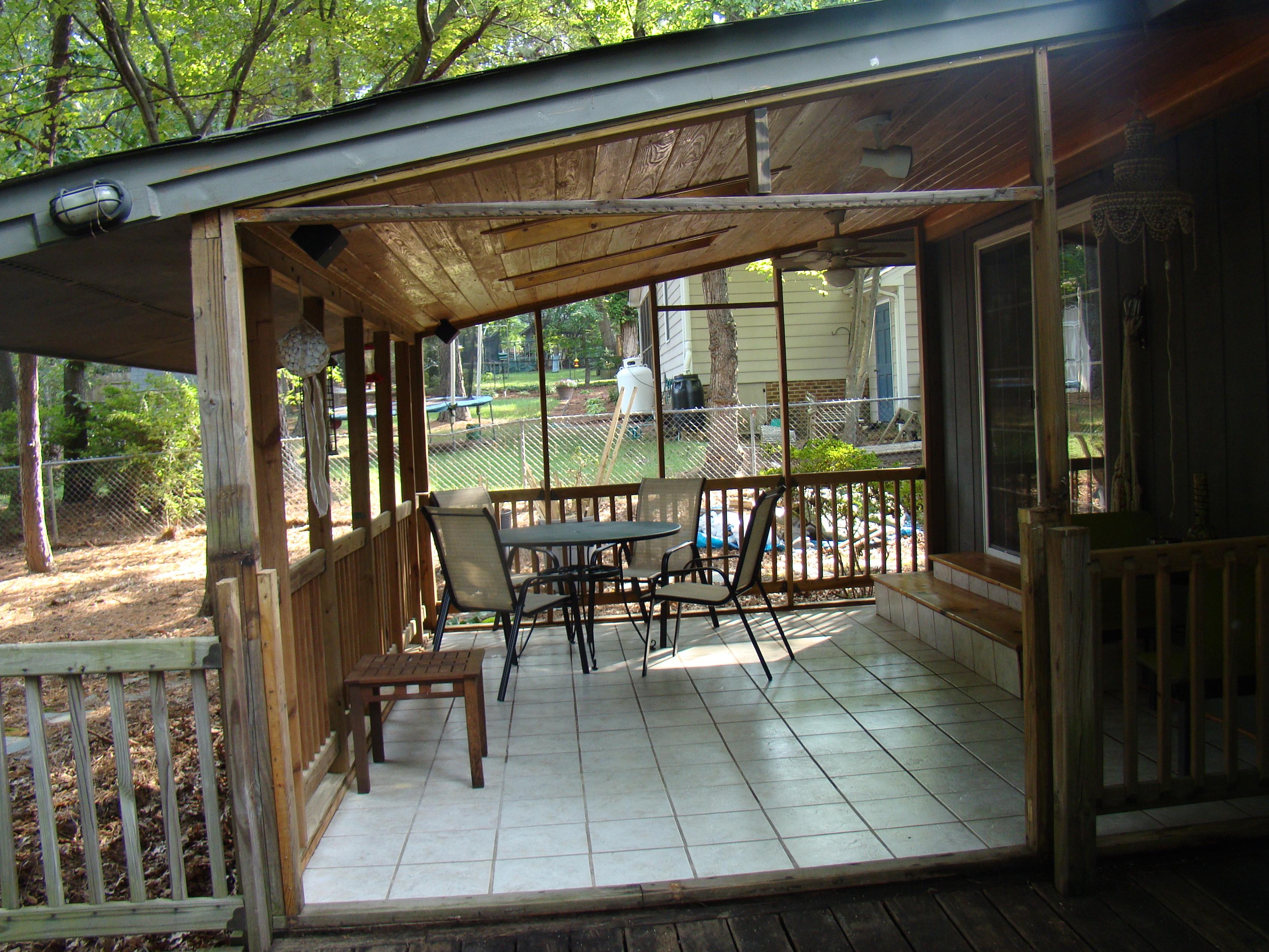 Closed In Back Porch Ideas | Home Design Ideas on Closed Patio Design id=96548