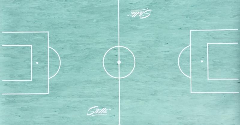 tapis gerflex trace pour baby foot stella 140 x 75 cm
