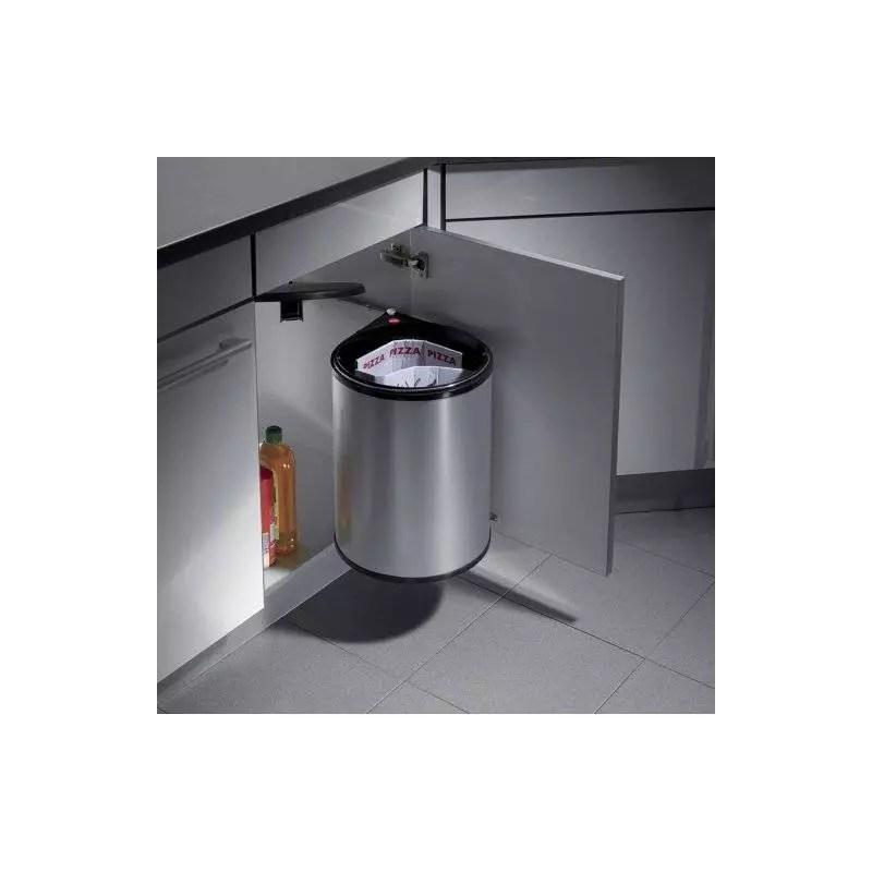 Poubelle De Porte 20 L Ouverture Automatique Accessoires