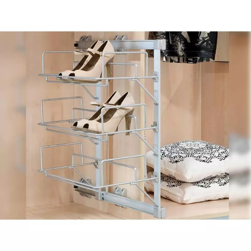 range chaussures lateral extractible accessoires de dressing