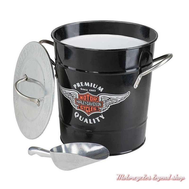 seau a glace harley davidson motorcycles legend shop