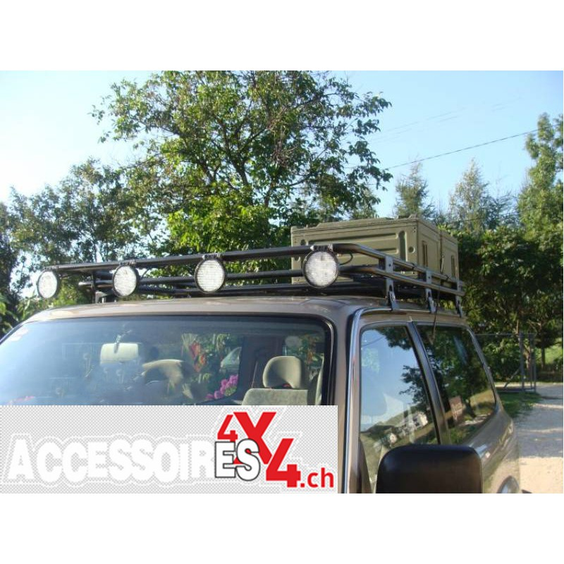 roof rack without mesh nissan patrol y61 short version