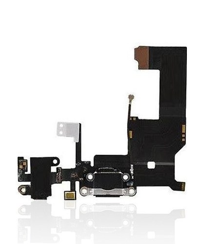 Charging Port Flex Cable iPhone 5 (Space Grey) Front
