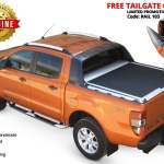 Ford Ford Ranger 2012 2016 2020 Cover Lids Canopies Roller Lid Shutter In Silver Standard Sot 1308 Roll Tessera4x4 Accessories Accessories 4x4 Com